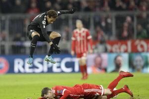 Momentka zo stretnutia Bayern - PSG.
