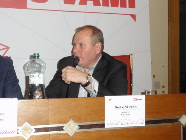 Ondrej Ščurka, konateľ Nitra Invest.