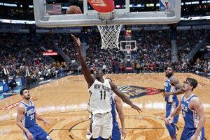 Hráči New Orleans triumfovali nad Philadelphiou 131:124.