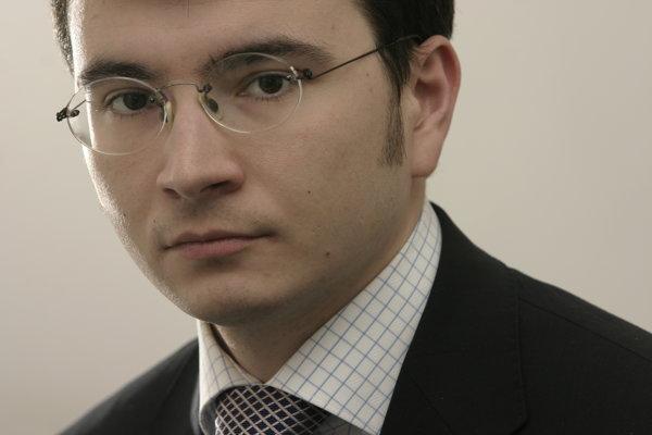 Na snímke Vladimír Vaňo.