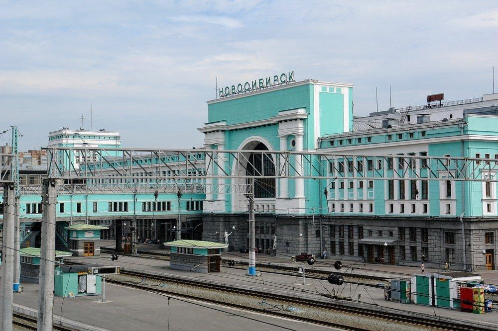 Vlaková stanica v Novosibirsku