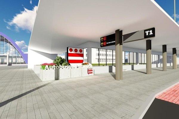 Lokalita medzi stanicami. V budúcom roku by sa mal začať realizovať aj projekt Modernizácie a rekonštrukcie prestupného uzla na Masarykovej ulici s finančnou podporou takmer dvoch miliónov eur.