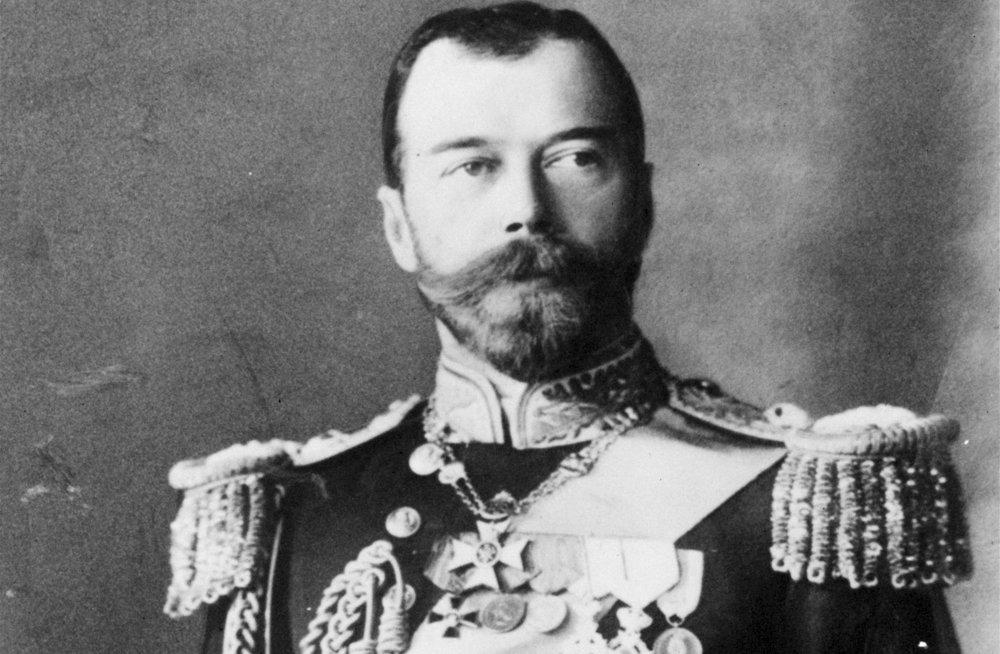 Posledný ruský cár Mikuláš II. vo vojenskej uniforme.