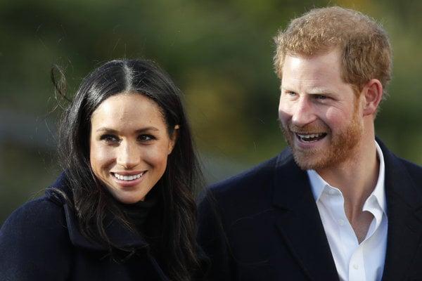 Britský princ Harry a americká herečka Meghan Markleová.