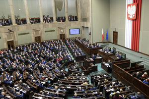 Poľský Sejm.