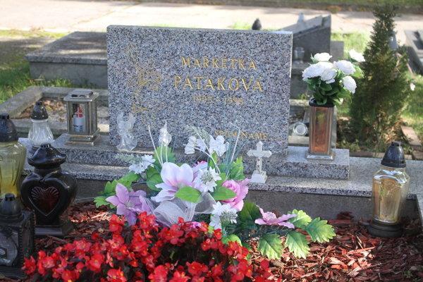 Markétka má hrob na nitrianskom cintoríne.