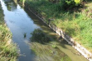 Hladina Trnávky býva nízka najmä v lete, keď je málo zrážok.