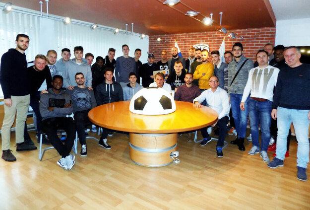 Futbalisti sa FC Nitra sa opäť zídu až po Novom roku.