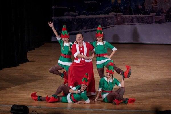Vianočný program sa divákom páčil.