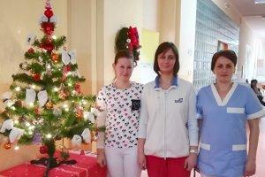 Na Vianoce sa pripravujú aj v levickej nemocnici.