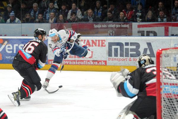 Ilustračná fotografia zo zápasu Banská Bystrica - Nitra.