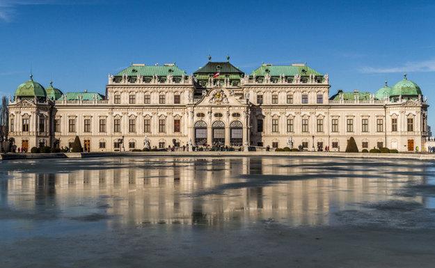 Palác Belvedér vo Viedni