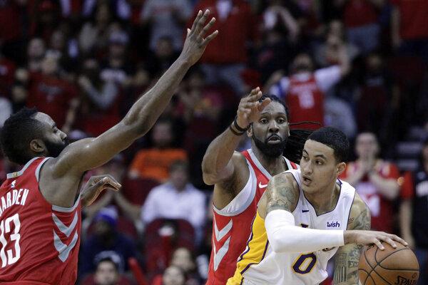 Basketbalisti LA Lakers ukončili víťaznú sériu Houstonu.