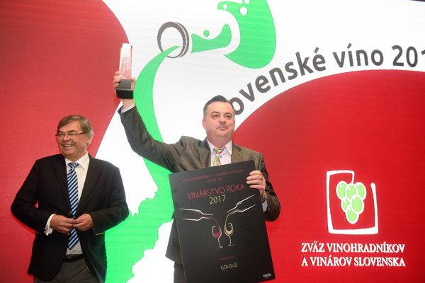 Riaditeľ vinárstva Miloš Holík.