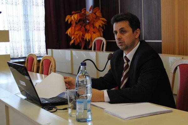 Medzilaborský primátor Vladislav Višňovský.
