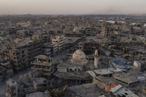 Irak čaká obnova.