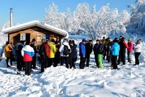Na trasu Lieseckým chotárom sa vydali viac ako 200 ľudí.