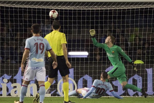 Celta Vigo remizuje po prvom polčase s Barcelonou.
