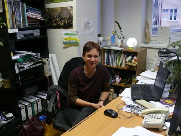 Mária Apfelová, zoologička Národného parku Veľká Fatra.