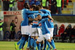 Futbalisti SSC Neapol majú skvelú formu.