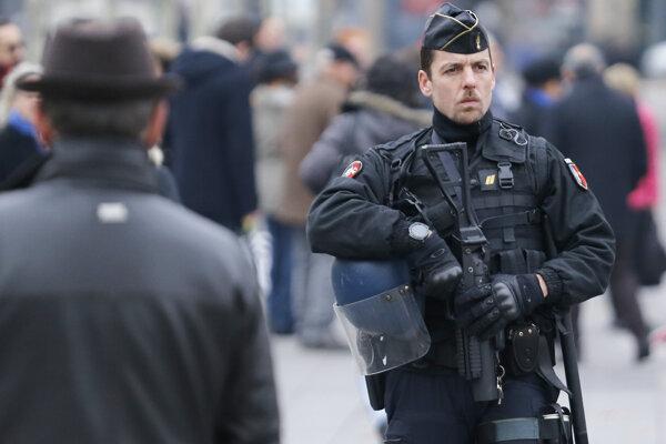 Francúzsky policajt.