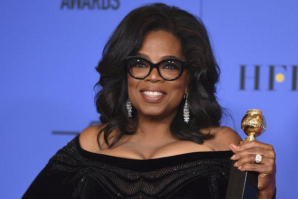 Oprah Winfreyová si prebrala cenu Cecila B. DeMilla za celoživotné dielo.