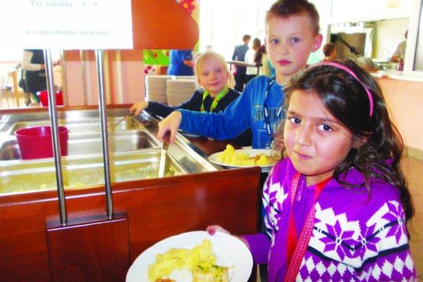 Školská jedáleň ZŠ Benkova