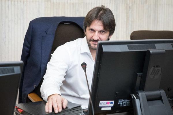 Podpredseda vlády a minister vnútra SR Robert Kaliňák.