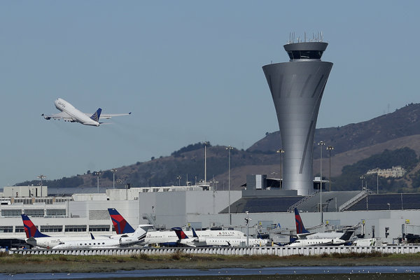 Letisko v San Franciscu.
