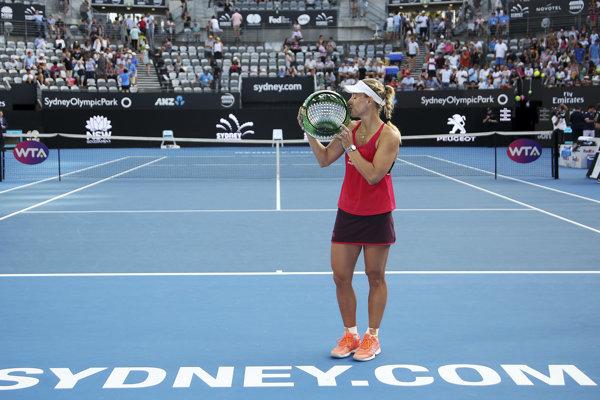Angelique Kerberová triumfovala na turnaji v Sydney.