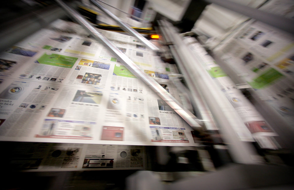 Tlačiareň Petit Press.