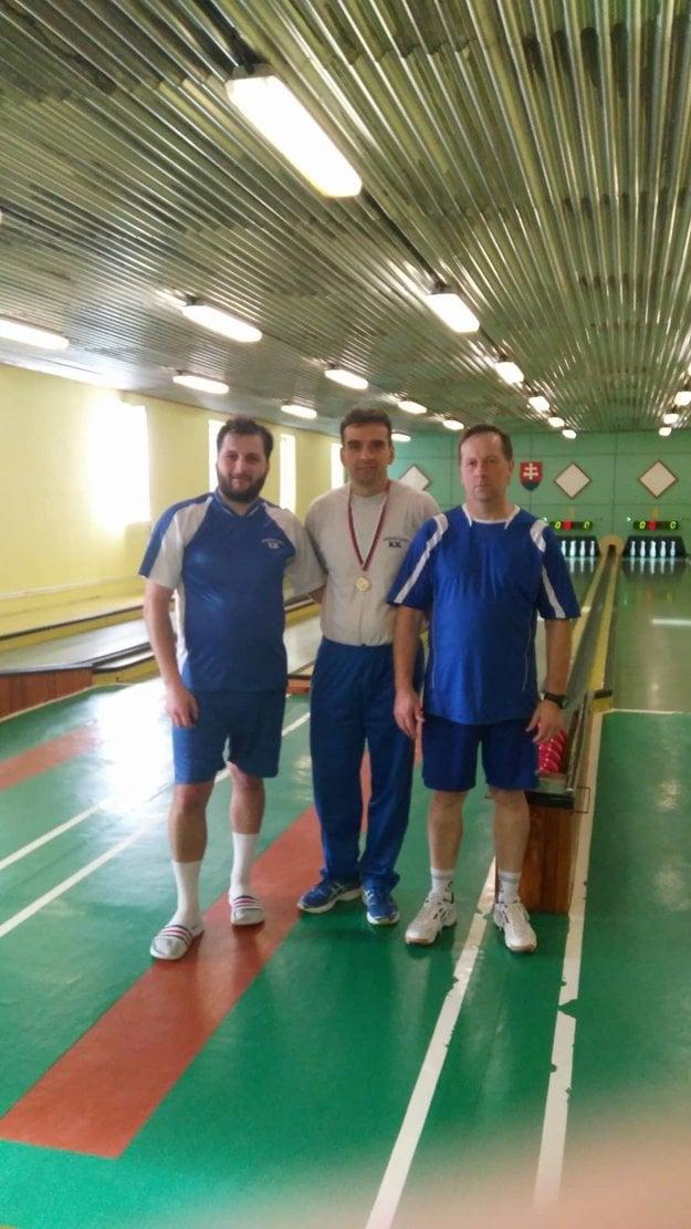 Zľava: Martin Jančovič, Rastislav Pašek, Peter Kamencay.