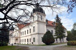 Kaštieľ v Trebišove. Sídlo múzea a Kultúrneho centra južného Zemplína.