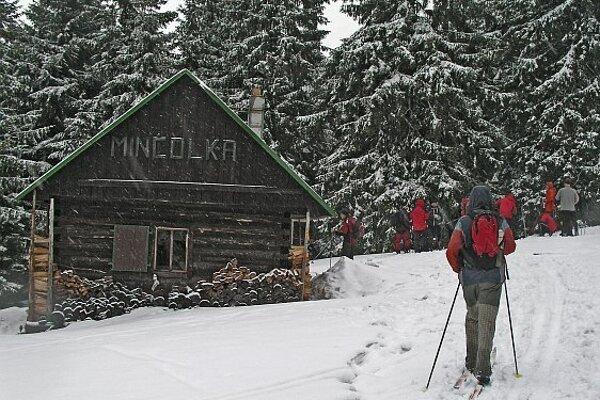 Aj takto to vyzeralo na lyžiarskom prechode Jánošíkovým krajom v roku 2017.
