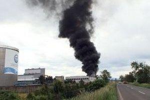 K najväčším zásahom patril požiar v spoločnosti Kompala v Badíne.