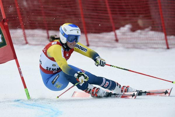 Švédska slalomárka Maria Pietiläová-Holmnerová končí profesionálnu kariéru.