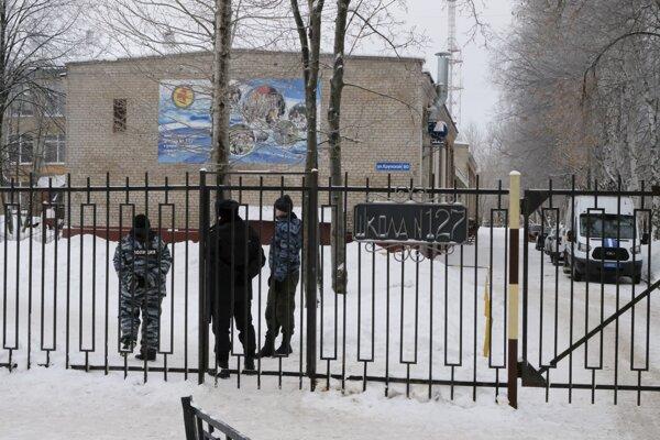 Ruský Perm sa stal v pondelok dejiskom útoku.
