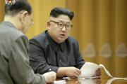 Líder KĽDR Kim Čong-un.
