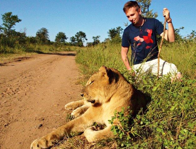 František Kekely v Afrike.
