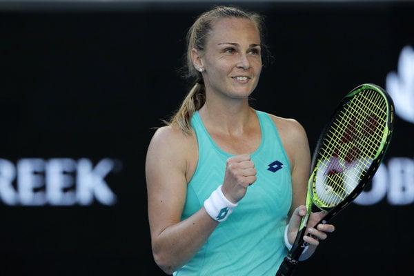 Magdaléna Rybáriková si na Australian Open 2018 zahrá v osemfinále.