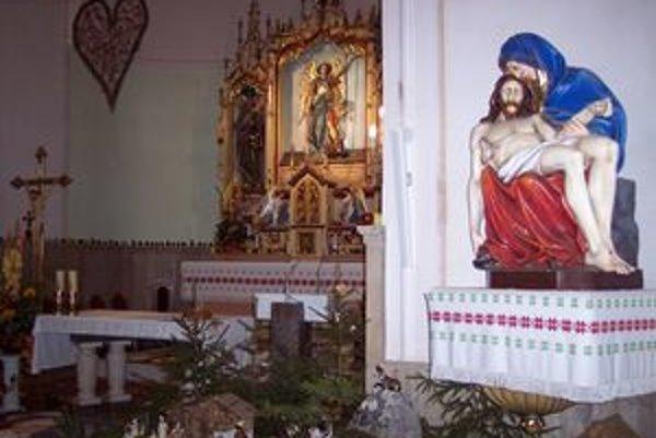 Kostol sv. Michala.