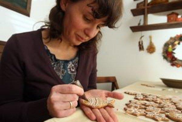 Medovníčky z rúk Sylvie Huťkovej sú malým umeleckým  dielom