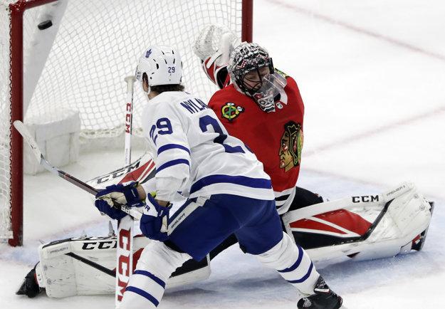 William Nylander efektným zakončením rozhodol zápas Toronta s Chicagom.