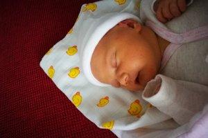 Zara Albertová (3760 g, 47 cm) sa narodila 10. januára Dane a Erikovi z Trenčína. Zo sestričky sa teší Karolína.
