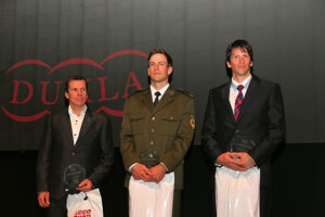 Ocenenie pre našich slalomárov.
