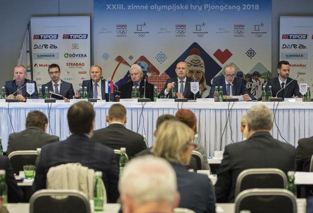 Valného zhromaždenia Slovenského olympijského výboru (SOV).