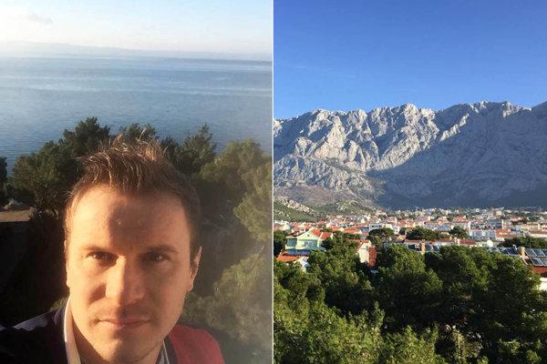 Domovom vionistov sa stala Makarska. Peter Orávik už ponúkol pohľad na more i neďaleké kopce.