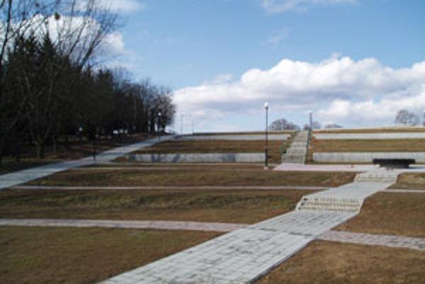 Nový zvolenský cintorín.