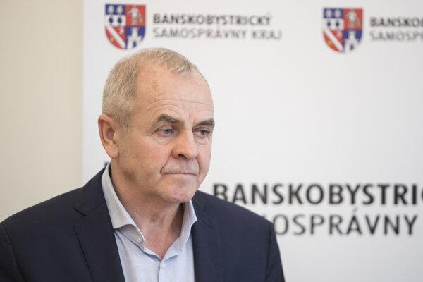 Predseda Banskobystrického samosprávneho kraja (BBSK) Ján Lunter.
