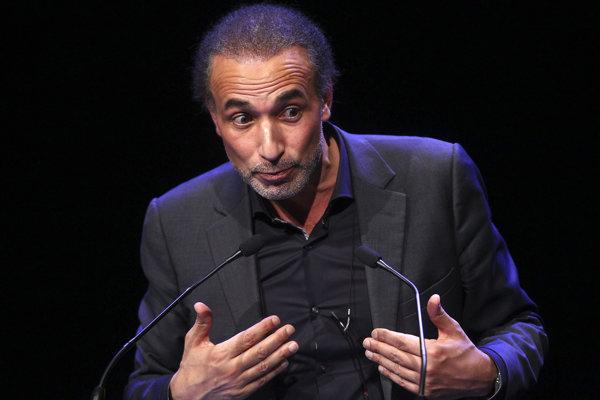 Známy švajčiarsky islamský mysliteľ Tariq Ramadan.